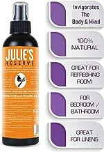Citrus, Lemongrass, Cedar Air Freshener Mist Spray 100% Natural, Home, Bedroom, Linen, Essential Oil Blend Odor Eliminator 100(Citrus, 4 Oz)