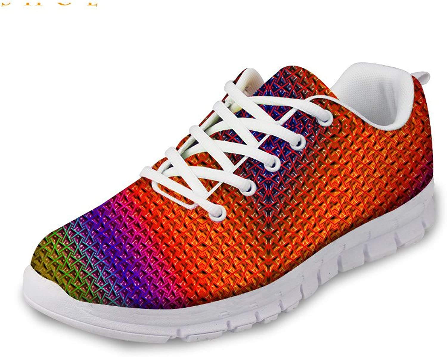 EnlaMorea Men's Women's Fashion Sneakers Lightweight Breathable Mesh Gym Casual Sporty shoes