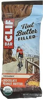 CLIF Nuez llena de mantequilla – Barra energética orgánica – Mantequilla de cacahuete – (barra de bocadillos de proteínas ...