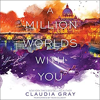 A Million Worlds with You audiobook cover art