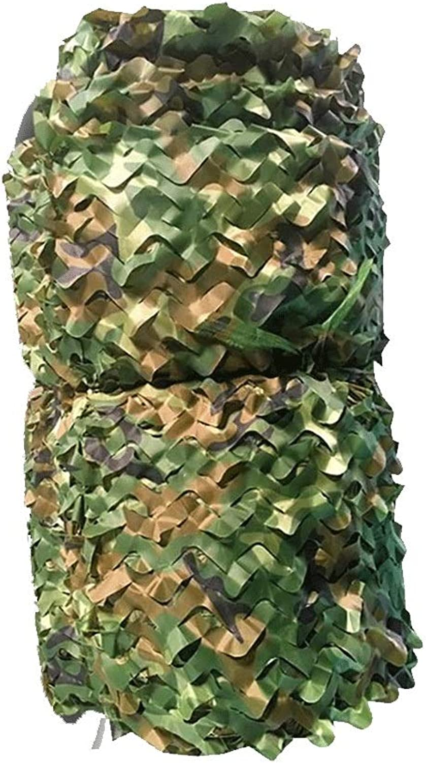 Gaoye Camouflage Net, Camouflage Net for Camping Military Hunting Shooting Sunscreen Nets Woodland Camo Netting Multiple (color   3x4m)