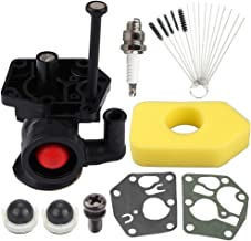 Powtol 795477 498809 Carburetor fits Briggs and Stratton 795469 794147 699660 794161 498811 with 698369 Air Filter 795083 495770 Diaphragm Brushing