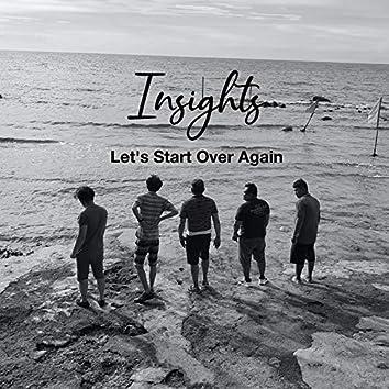 Let's Start over Again