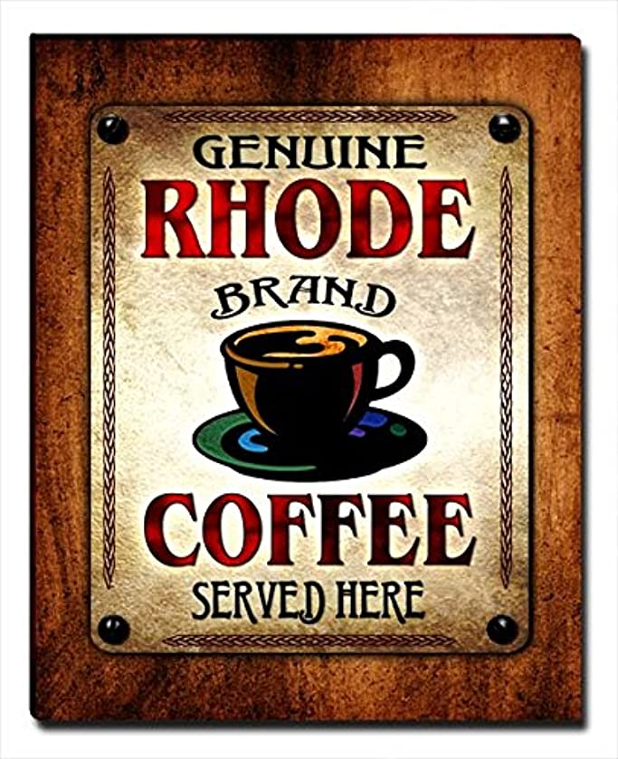 ZuWEE Rhode Family Coffee Gallery Wrapped Canvas Print