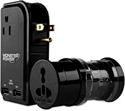 Monster 121776 Global AC Power Adapter Kit With USB Charging Outlets