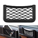 Bolsa de red de almacenamiento de coche Sunsbell, red de almacenamiento de comestibles de 20 * 8 cm, organizadores de almacenamiento para/maletero/coche/camión