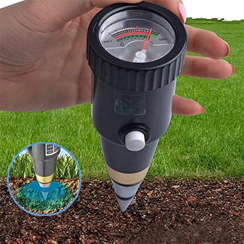 Review Moisture Meter 2 In 1 Soil Tester Plant Moisture Sensor Meter/Ph Tester For Home, Garden, Law...