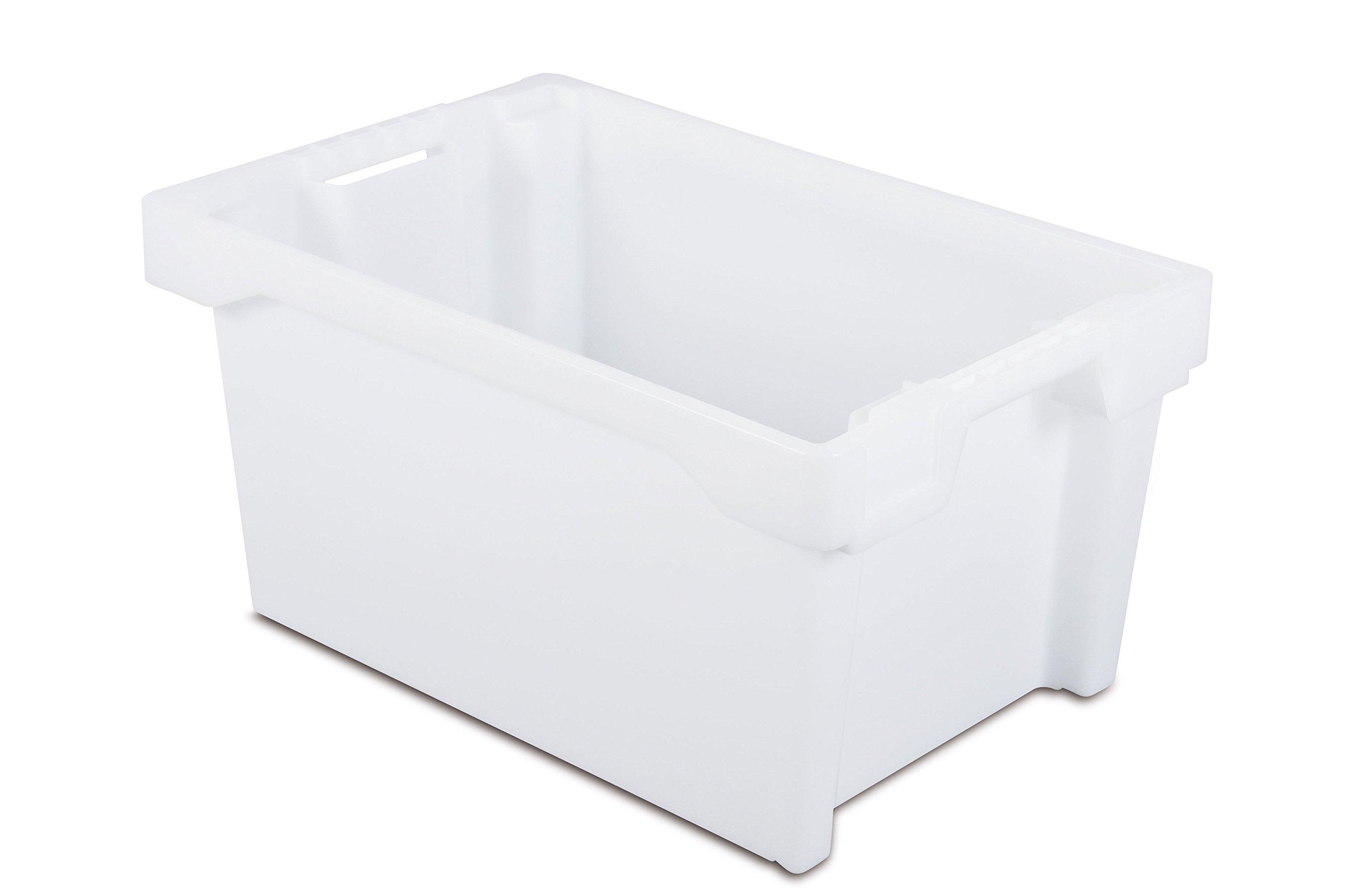Tayg 6430-N Euro-caja para almacén y transporte 6430, Transparente, 600 x 400 x 300 mm: Amazon.es: Bricolaje y herramientas