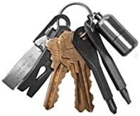CoscosX 14 Sets Portable EDC Keys Ring Cross and Slot Type Screwdriver Mens Socks Key Outdoor Multifunction Key Chain Stainless Keychain Pocket Tool EDC Screwdriver Set with Keychain