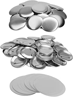 25mm~75mm 1 Inch~3 Inch Button Parts for Badge & Button Making Machine DAWEI 1001 Parts Supply 100 Sets (φ50mm 2 Inch)