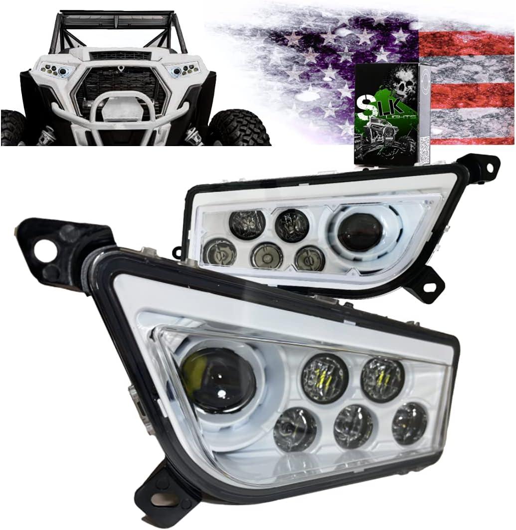 🇺🇸 SLK-Customs (NON Halo) RZR LED Headlight compat