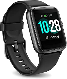 Fitness Tracker Watch with Heart Rate & Sleep Monitor, Waterproof Activity Tracker Smart Wristband Watch, Step Calorie Cou...