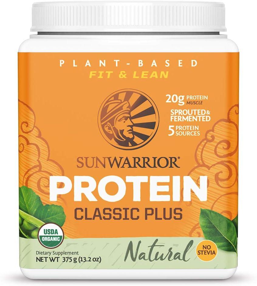 Sunwarrior - Classic Plus Cheap mail order shopping Vegan Brow Protein Peas Powder Fashionable with