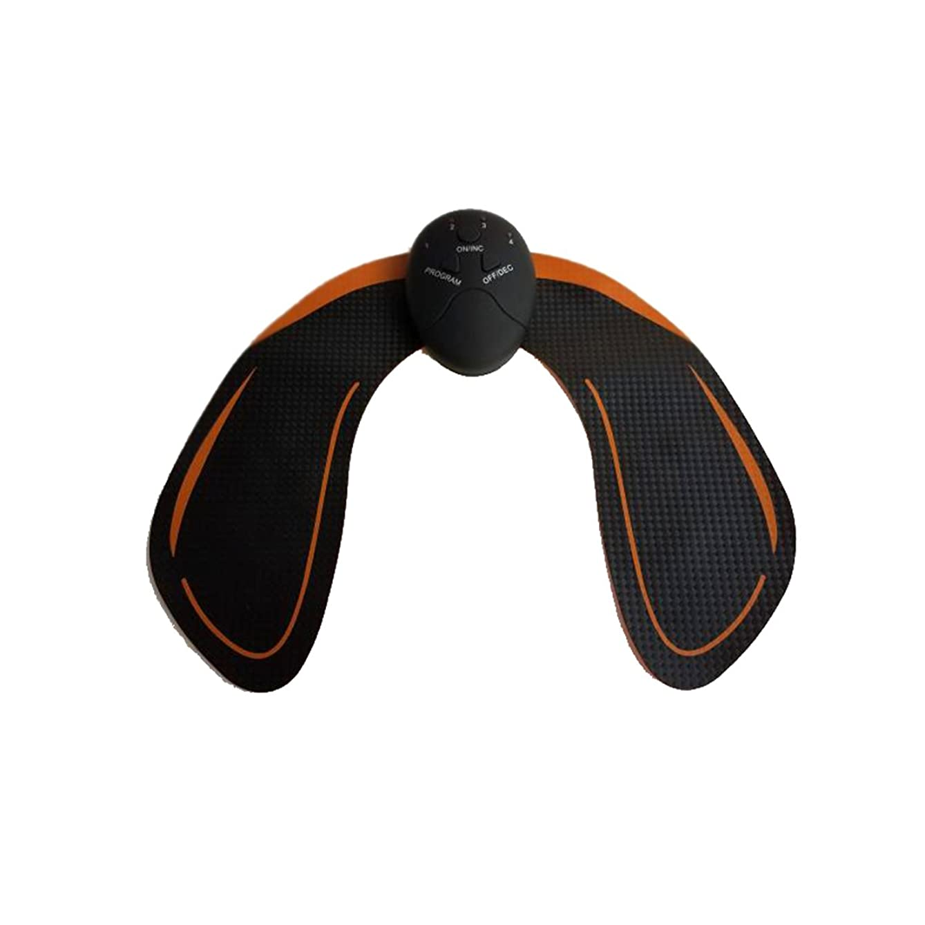 準備するピストル放散するSUPVOX 電池式ボディ美容機器を持ち上げるお尻のヒップトレーナー(ブラック)