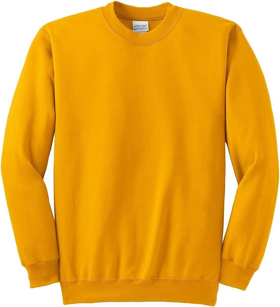 Port & Company Tall Ultimate Crewneck Sweatshirt. PC90T XXX-Large Tall Gold