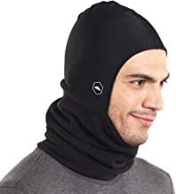 Tough Headwear Balaclava Ski Mask | Fleece Neck Warmer with Helmet Liner Hood | Fits Under Helmets & Hard Hats