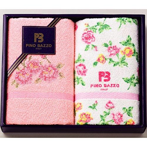 庄司織布 タオルギフトセット ピンク サイズ/約34×80cm