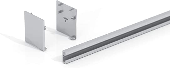 Glazen schuifdeur invoerprofiel 10 mm voor glazen schuifdeursysteem Sadora SlimLine powered by Levidor