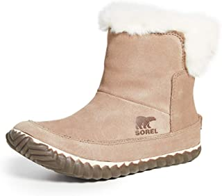 Women's Out 'N About Slipper Booties, Ash Brown, 5 Medium US