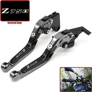 2007-2012 Leviers dembrayage de frein 5D losange pour Kawasaki Z750 Noir Not Z750S model
