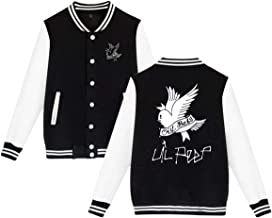 Baseball Uniform Jacket Sport Coat, Lil Love-Peep Cotton Sweater for Women Men Boy Girls