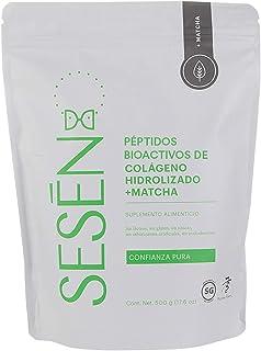 SESĒN suplemento Alimenticio Colágeno Hidrolizado en polvo + Matcha