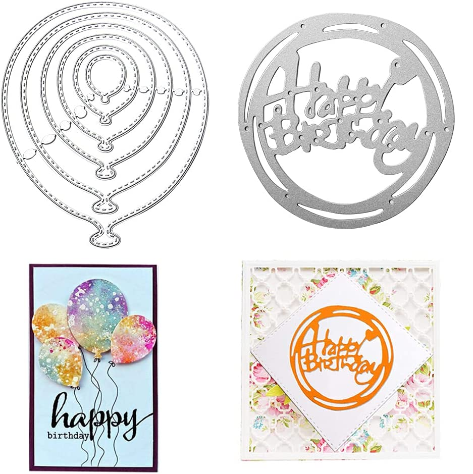 Balloon Metal Die Cuts Balloons Free shipping anywhere in the nation OFFicial mail order Party Festival Invitation C Card