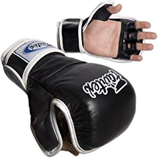 Fairtex MMA Sparring Gloves - FGV15 - BLACK