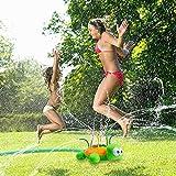 salipt Juguete de Rociador Juguete de Agua para Niños Tortuga Jardín de Verano Actividades Familiares Aire Libre Jardín Patio Trasero Playa