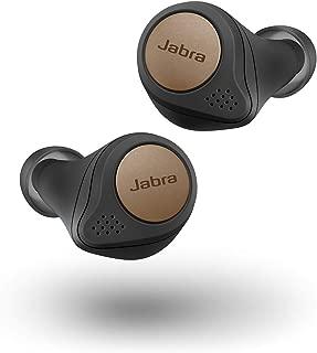 Jabra Elite Active 75t Earbuds – Alexa Built-in, True Wireless Earbuds with Charging Case, Copper Black