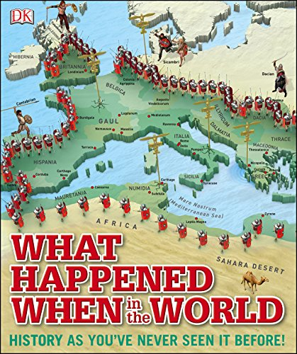 What Happened When in the World: History as You\'ve Never Seen it Before! (Dk) (English Edition)