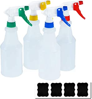 Cosywell Plastic Spray Bottles 750 ml Heavy Duty Spraying Bottle Leak Proof Mist Water Bottle for Chemical and Cleaning So...