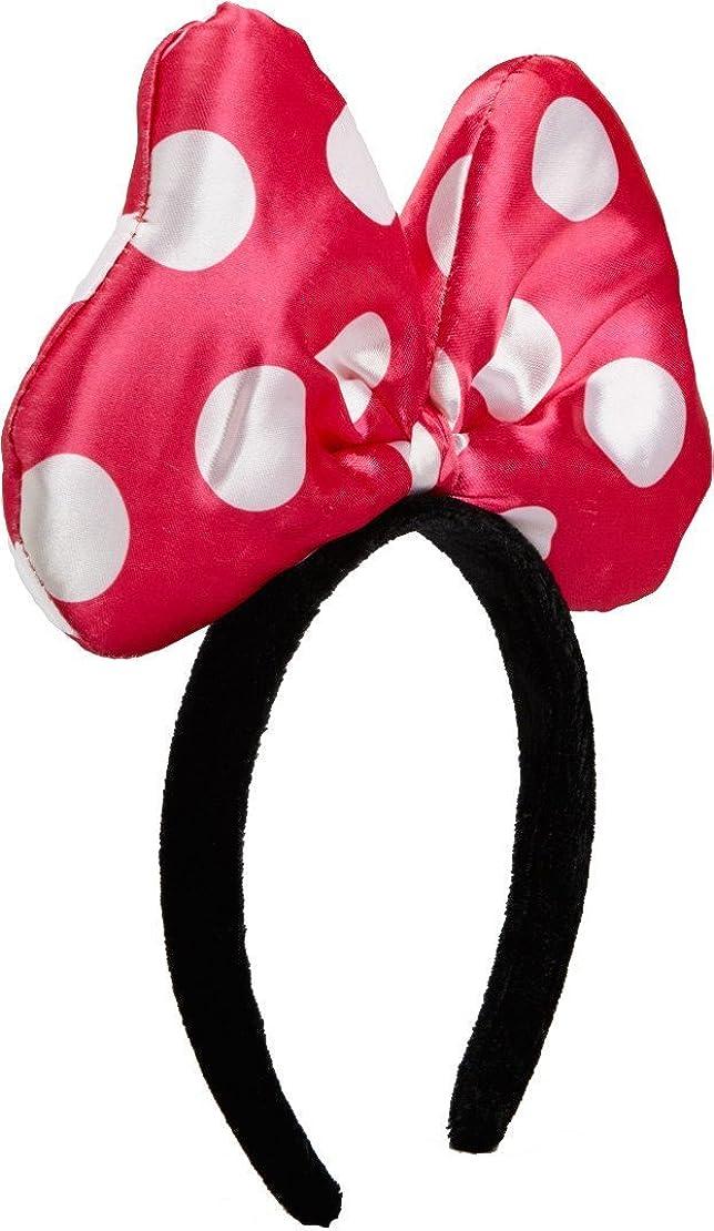 Wenchoice Girl's Hot Pink Polka Dot Bow Headband One Size