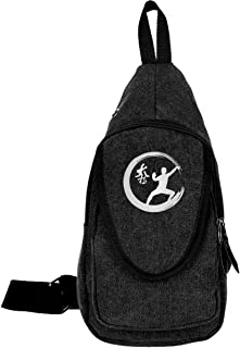 Enso Circle Tai Chi Martial Arts Mens & Womens Unisex Sport Fashion Style Cycling Shoulder Chest Pack