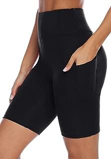 High Waist Yoga Shorts Workout Running Athletic Non See-Through Yoga Pants