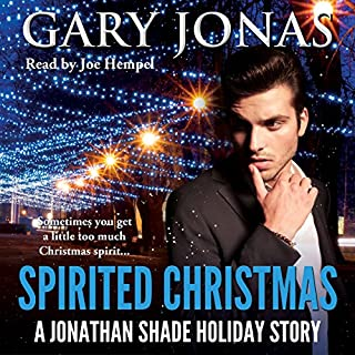 Spirited Christmas audiobook cover art