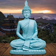 Decoration Buddha Statue in Thailand Meditation Statue Lucky Buddha Statue Religious Supplies Home Decoration Town House N...