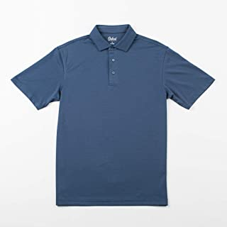 OXFORD AMERICA Houston Short sleeve Double Knit Polo classic Navy, Large