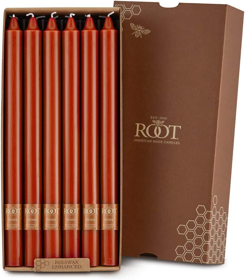 Root Candles Max 85% OFF Miami Mall Unscented Smooth 12-Inch Arista 12- Dinner
