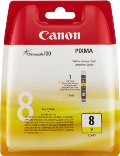 Canon CLI-8 Y Tintenpatrone 13 ml, gelb