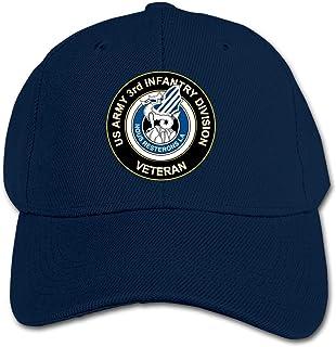ADGoods Kids Children US Army 3rd Infantry Division Unit Baseball Cap Adjustable Trucker Cap Sun Visor Hat For Boys Girls ...