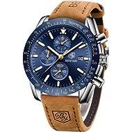 BENYAR Mens Stainless Steel Waterproof Chronograph Analog Watch Luxury Business Dress Watch...