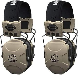 Walkers XCEL 100 Active Ear Hearing Protection Equipment Earphone Muff
