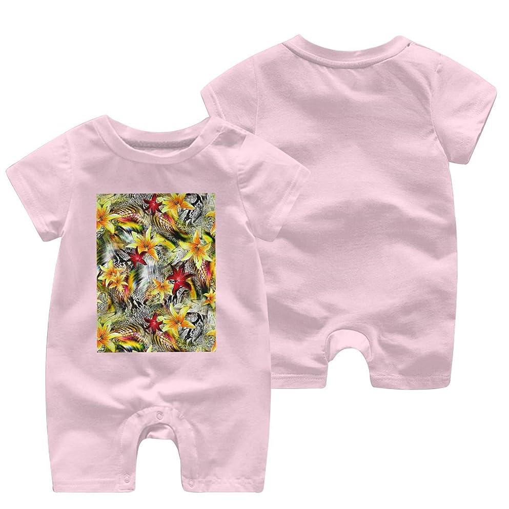 助言ちらつき好ましいストライプヒョウ ベビー服 肌着 新生児 ロンパース 夏 半袖 ジャンプスーツ ベビー 服 前開き 赤ちゃん ロンパースジャンプスーツ 男女兼用 Tシャツ 100%綿製 柔らかい (0-24m)