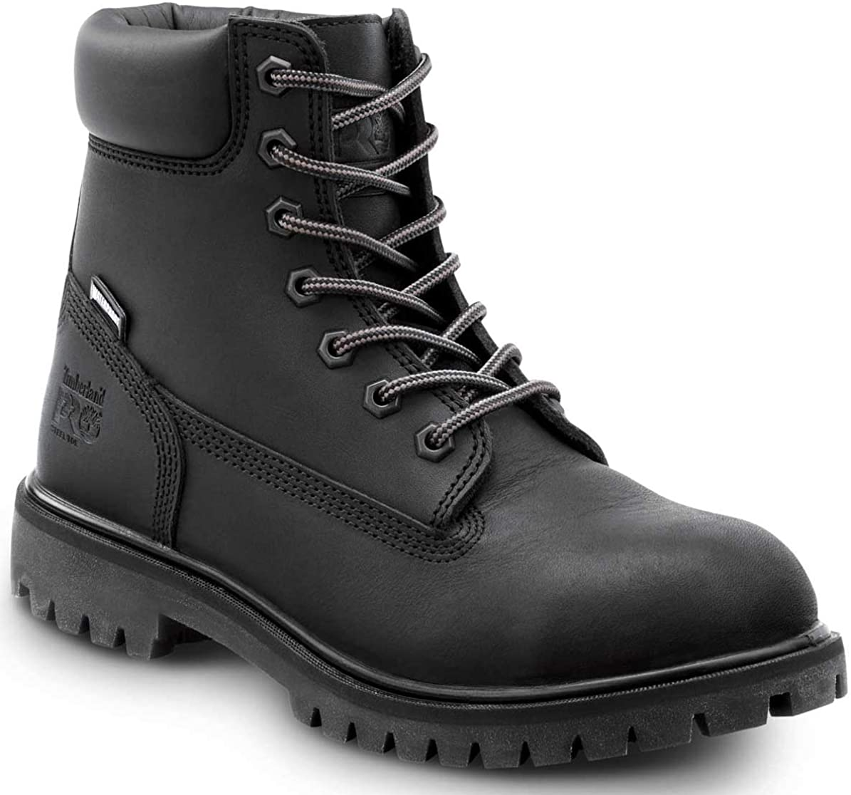 Timberland PRO 6IN Direct Attach Women's, Black, Soft Toe, EH, MaxTrax Slip Resistant, WP/Insulated Boot