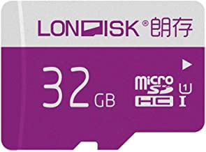 LONDISK 2 Pack Micro SD Card 32GB microSDHC Memory Card for Gaming/Dash cam/Yi Camer/GPS/Gopro Hero(32GB U1 2 Pack)