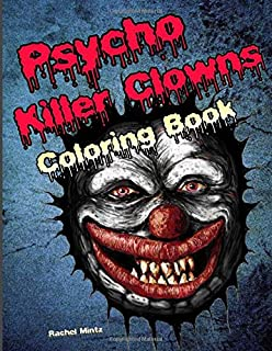 scary clown coloring