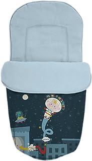 Estrellas Frambuesa BABY STAR Saco Silla Paseo Universal Reversible
