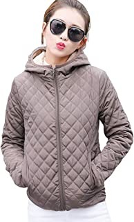 Leorealko Women Winter Warm Hooded Coat Fashion Thick Outwear Jackets Tops