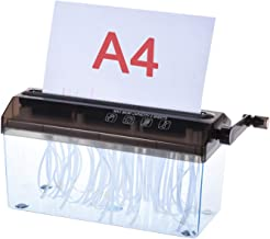 """$28 » IKAYAAA A4 9"""" Manual Hand Paper Shredder Document File Handmade Straight Cutting Machine Tool for School Office Home Use"""